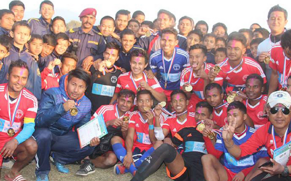Dang: Nepal Police Beats Nepal Army To Win The Title Of NSC 28th National Men's Championship