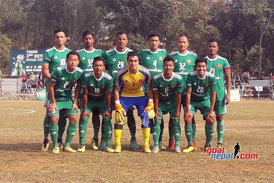 3rd Hetauda Gold Cup: Nepal Army Enters Semifinals