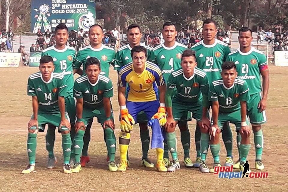 Nepal Army Enters Final Of 3rd Hetauda Gold Cup