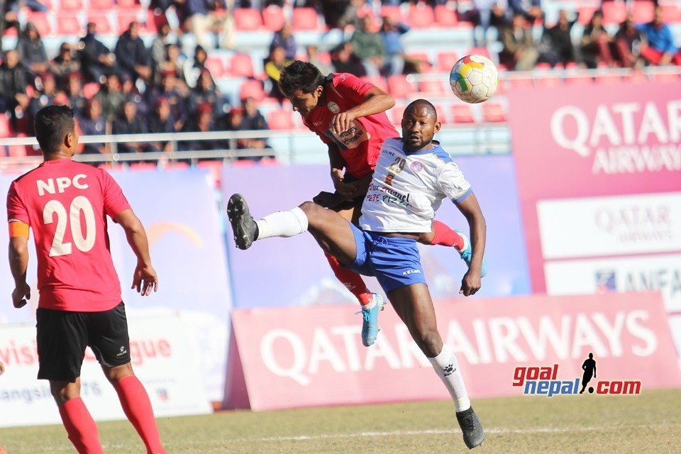 Macchindra Club Levels Points With Nepal Army