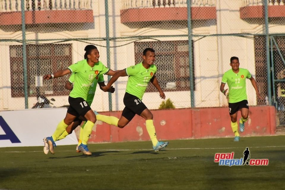 Nepal Army Manages To Create One Point Lead On Top