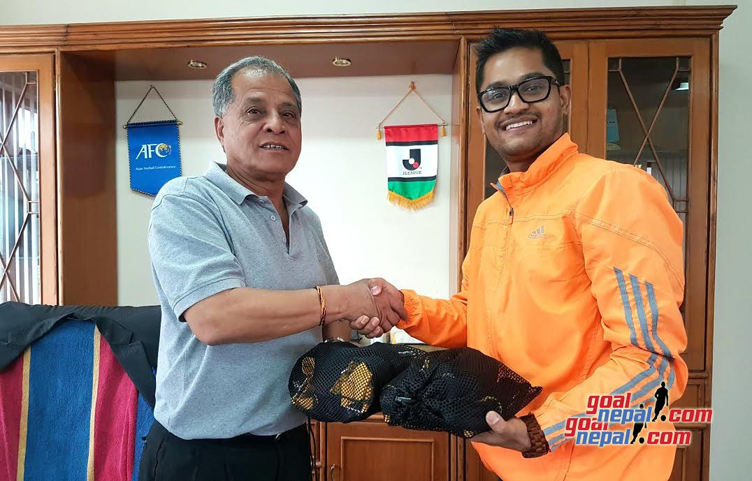GN Columnist Nissan Magar Gifts 4 TRX Suspension & 8 Mini Bands To Nepal National Team Through GN Foundation