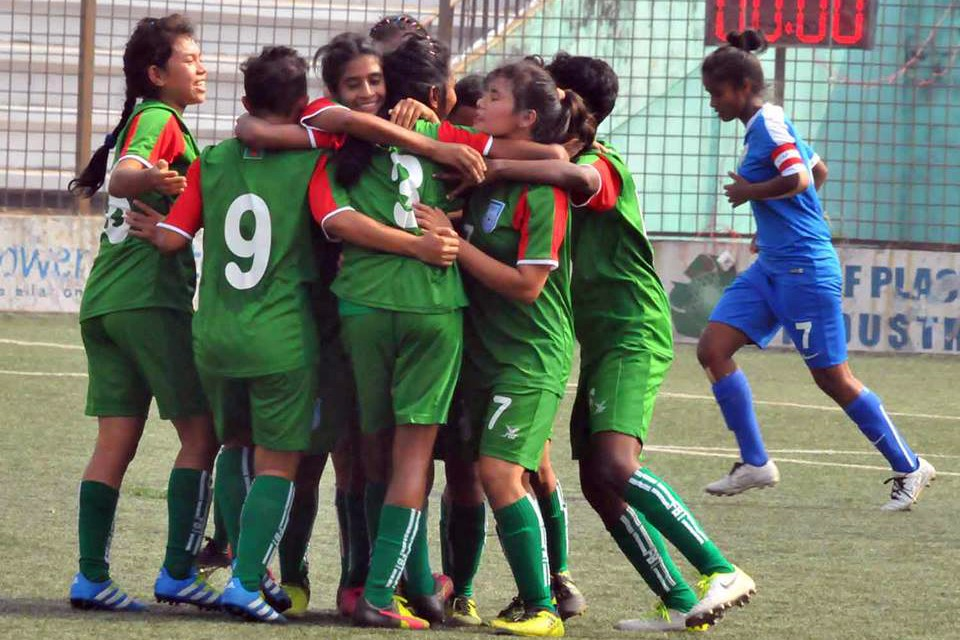 Bangladesh U15 Girls Beats India U15 To Win Title Of SAFF U15 Girls Championship