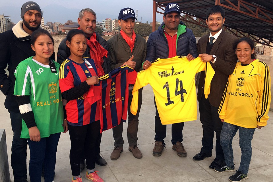 GoalNepal Foundation Donates 60 Jerseys, 10 Footballs To Girls In Remote Mugu District