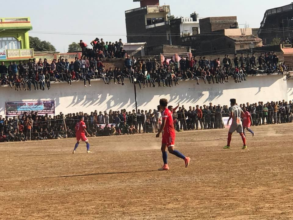 Dang: Nepal Police Club Vs Nepal Army In The Final Of NSC 28th Men's National Championship