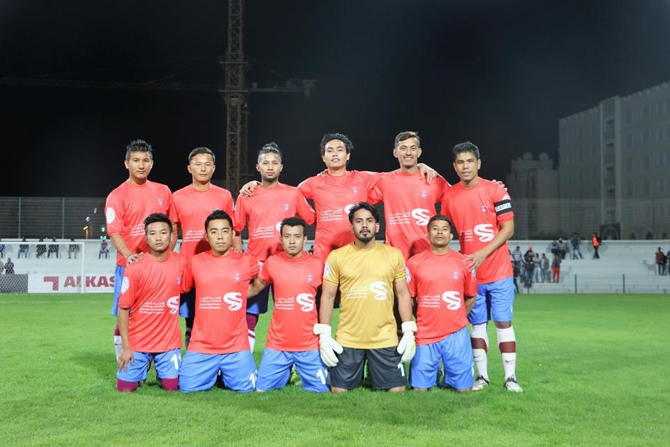 Qatar: Nepal Football Team Qatar Kicks Off Asian Communities Championship With A Win