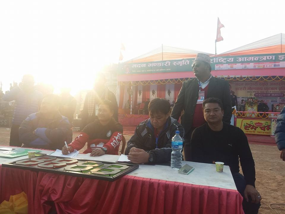 Nepal Coach Koji Is In Itahari For National Team Players' Selection