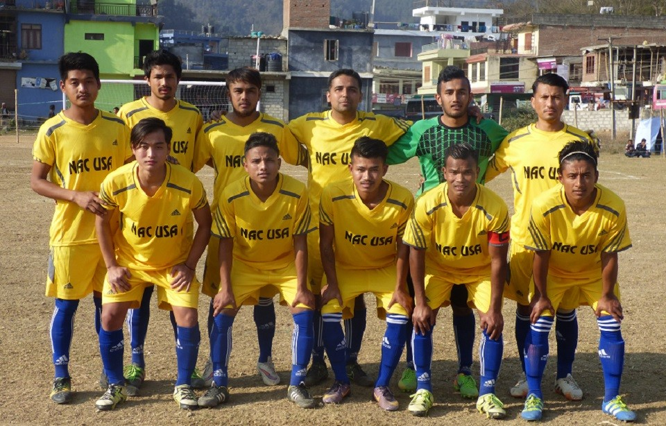 Tanahun: Jalthal FC Jhapa Versus NAC USA Bhimad In The Final Of Bhimad Cup