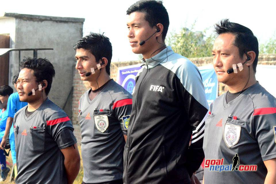 Rupandehi DFA Provides Radio Communication Set To Its Referees
