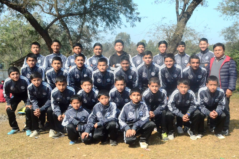 Rupandehi: ANFA Academy Butwal Players Receive Tracksuits