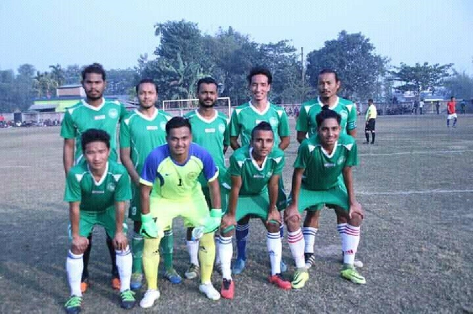Jhapa: Birtamod United FC Enters SFs In Pujan Memorial Knockout Football Championship