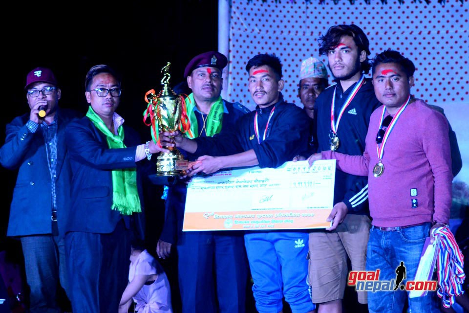 Rupandehi: Banganga Welfare Society Wins Title Of 9th Himalayan Gold Cup