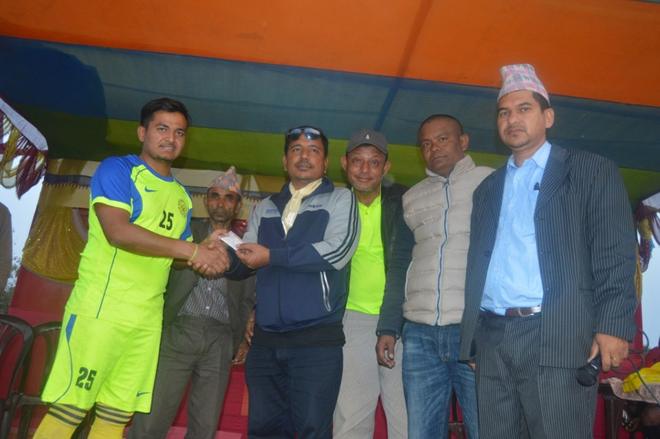 Jhapa: Birtamod United Club Enters SFs Of District Wide Open Football Championship