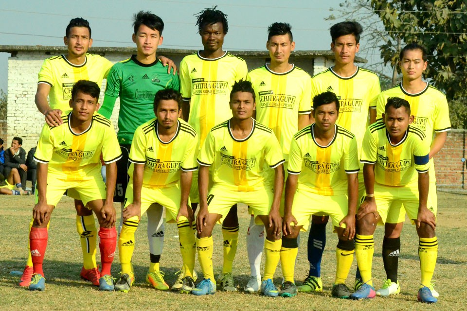 Rupandehi: Desbhakta Yuwa Club, Nawalparasi enters Final Of 8th Nawayuwa Cup