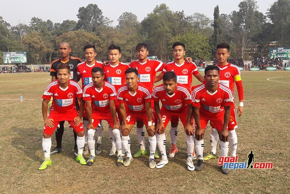 3rd Hetauda Gold Cup: Nepal Police Club Enters SFs