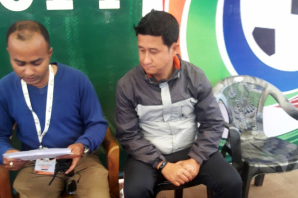 3rd Hetauda Gold Cup: NPC Coach Ananta Raj Thapa: Team Work Helps You To Win The Title