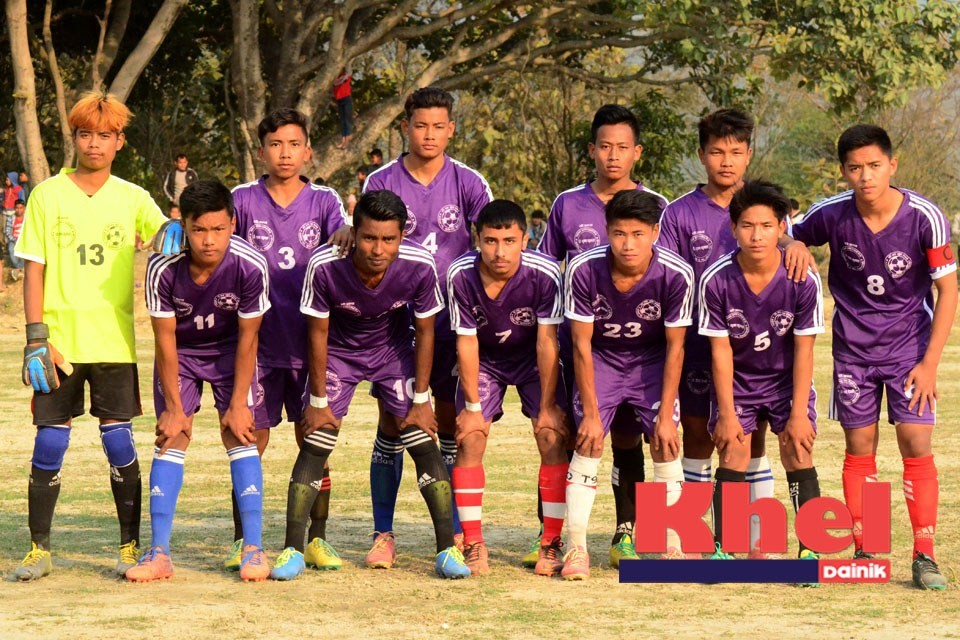 Nawalparasi: Nar Prashad Gurung Memorial 3rd Suryanagar Cup Kicks Off