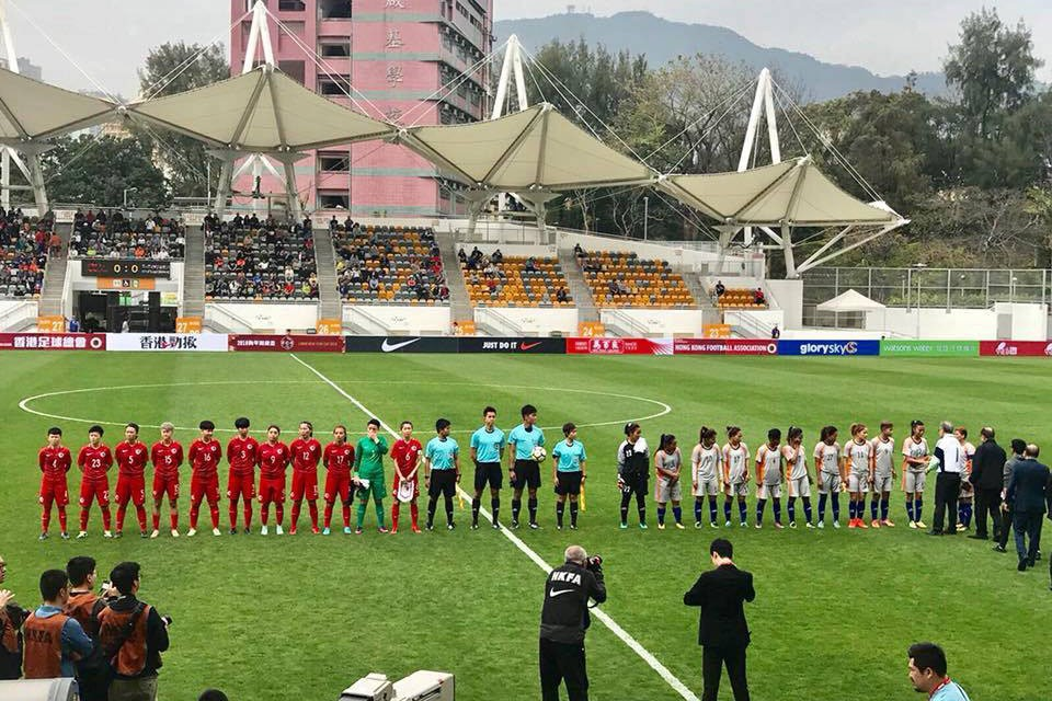 HongKong: Nepal APF Women's Team Beats Hongkong Women's Team In A Friendly