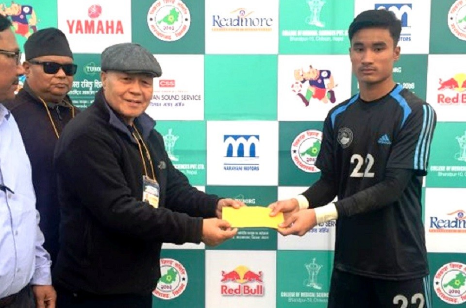 Chitwan: ANFA Academy Enters QFs Of 13th Bikash Running Shield