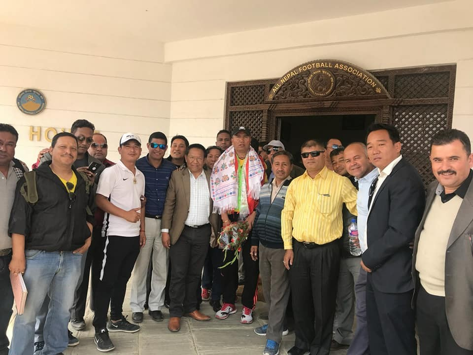 Rajesh Manandhar Beats Anil Gurung To Be Elected As President Of Players Association
