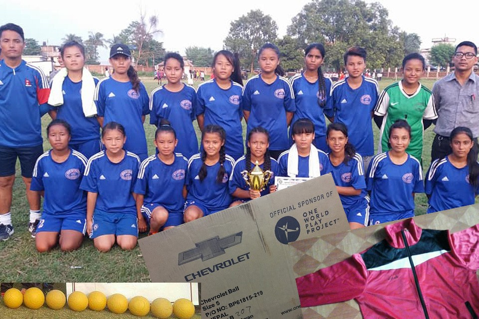 GoalNepal Foundation Announces Support To Mount Everest Sporting Girls Football Team