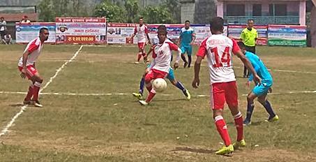 Kaski: Syangja Waling  & Hemja XI Into Semis Of Subhakamana Cup 2075