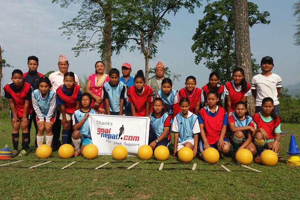 GN Foundation Hands Over Indestructible Footballs, Sporting Gears To Mount Everest Sporting Women's Team