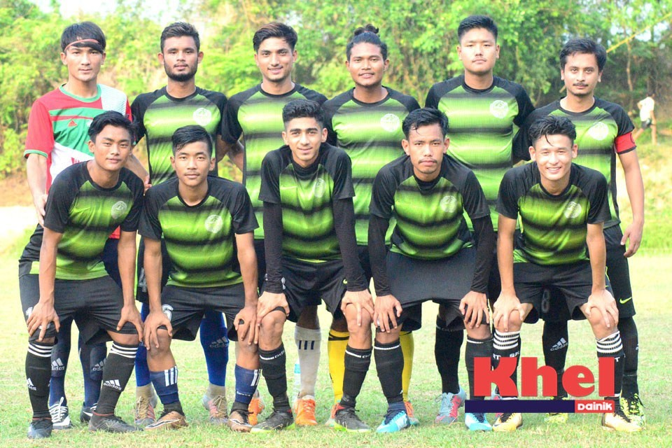 Nawalparasi: Everest FC Chitwan Enters SFs Of Sarawal Rural Municipality Cup