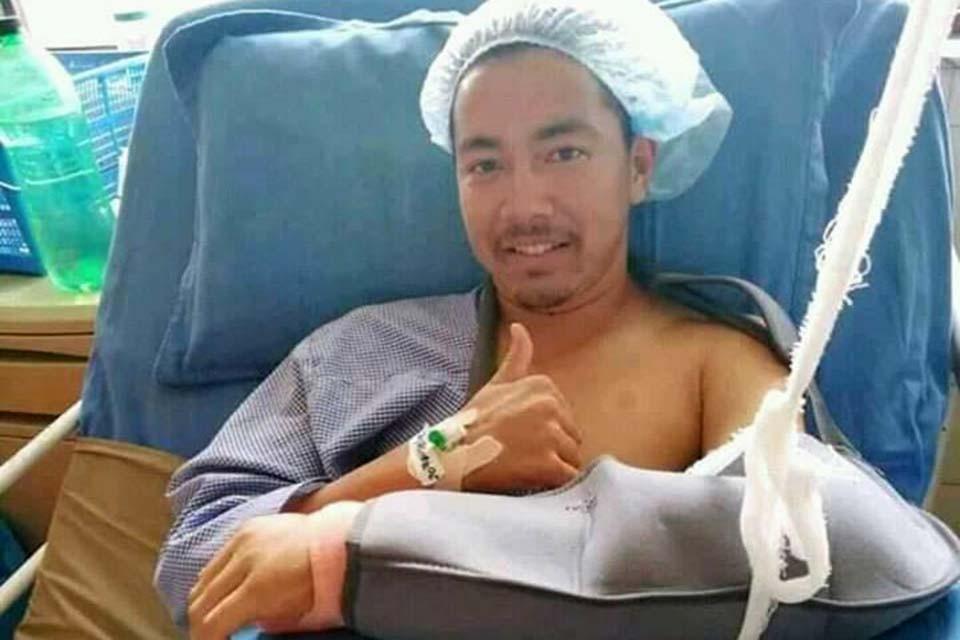 Nepal U23 Midfielder Pujan Uparkoti Undergoes Surgery For Scaphoid Fracture