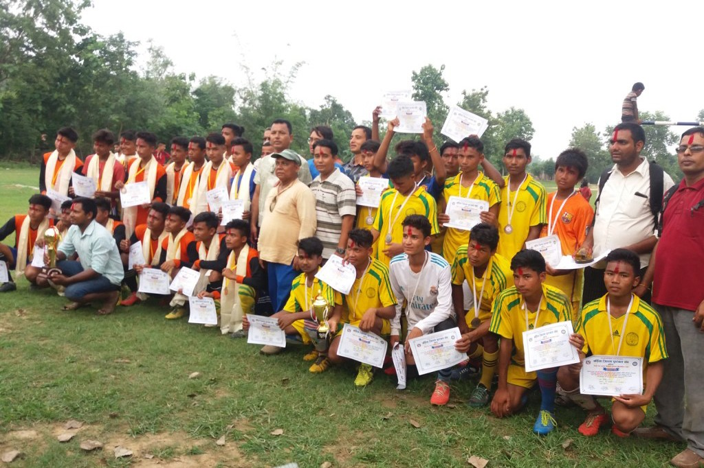 Bardiya: Shree Nepal Rastriya Ma VI Wins Title Of ANFA Cup