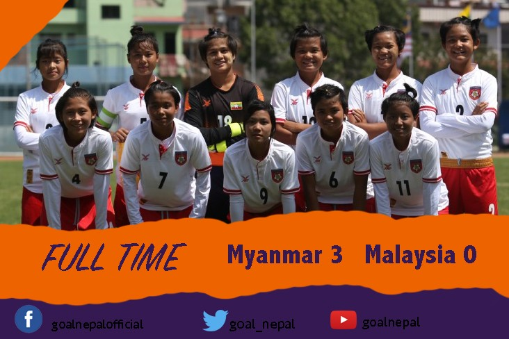 AFC U16 Group E Qualifiers: Myanmar Beats Malaysia 3-0 In The Opening Match