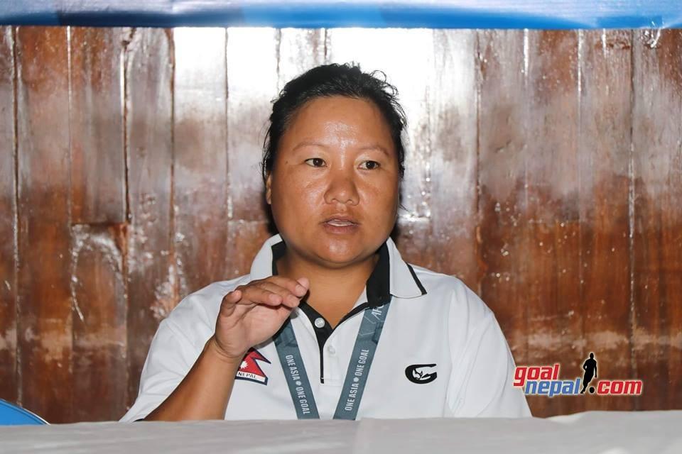 Nepal U16 Women's Team Coach Ganga Gurung: We Have To Play To Win Remaining Matches