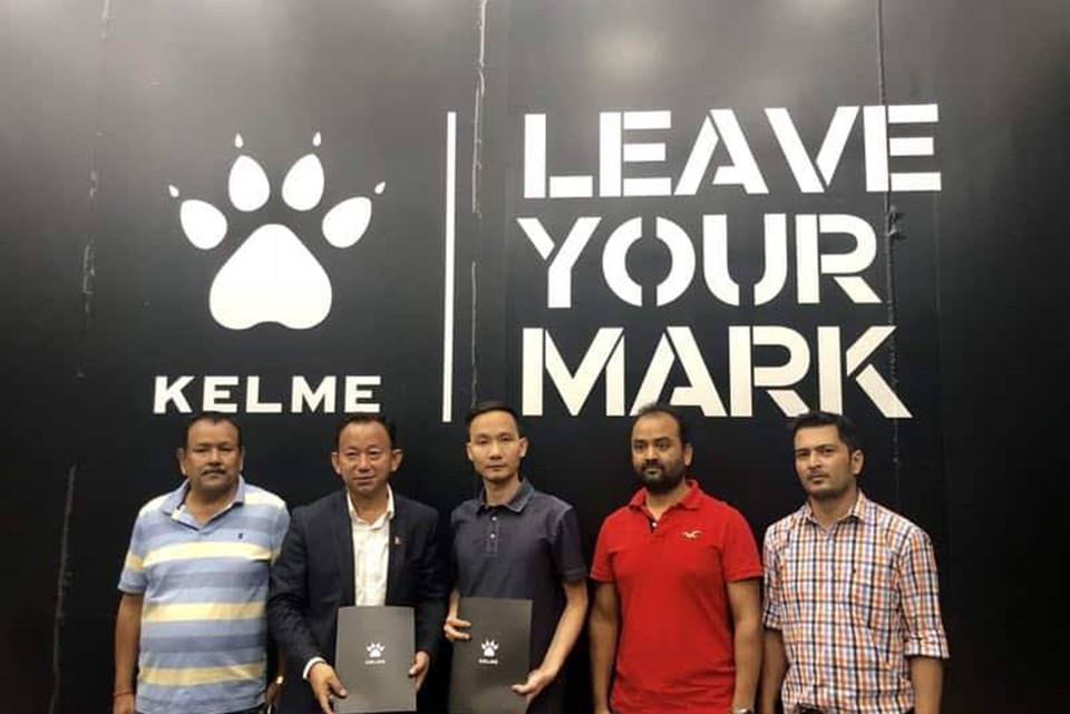 KELME Increases Sponsorship Amount To Nepal National Team; ANFA Strikes Deal In China