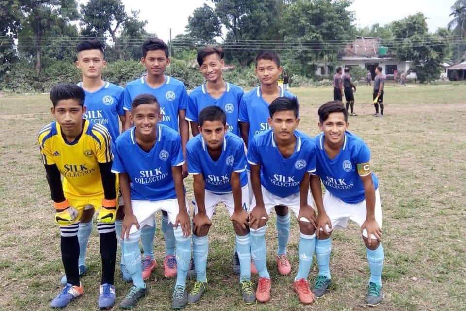 Jhapa: Kakarvitta Football Training Centre Wins 1st Birtamod U18 Championship