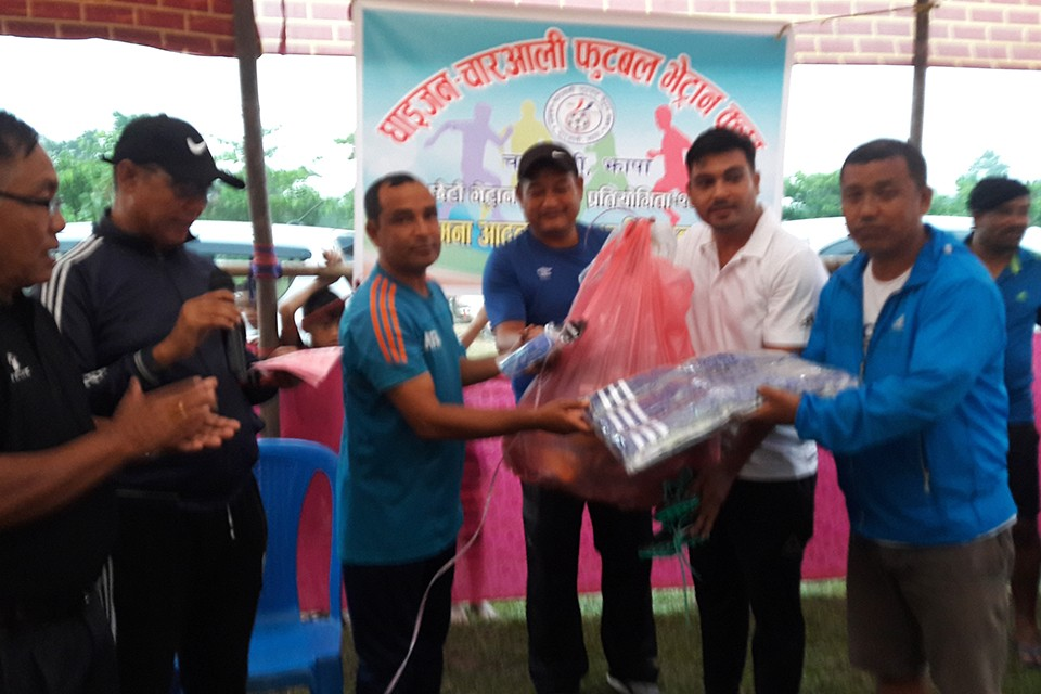 Jhapa: Parijat Ladies Team Receive Valuable Support