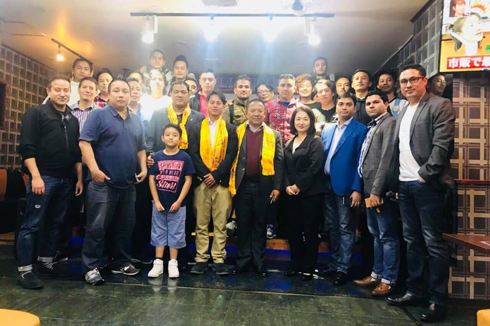 Nepal Japan Football Association Honors ANFA Prez & General Secy In Tokyo
