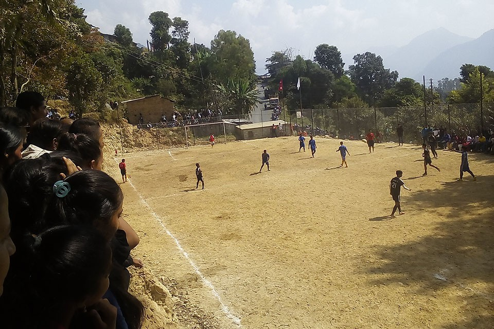 Rasuwa: Dhunche Youth Club Wins Title Of Dashain Cup At Kalika Rural Municipality