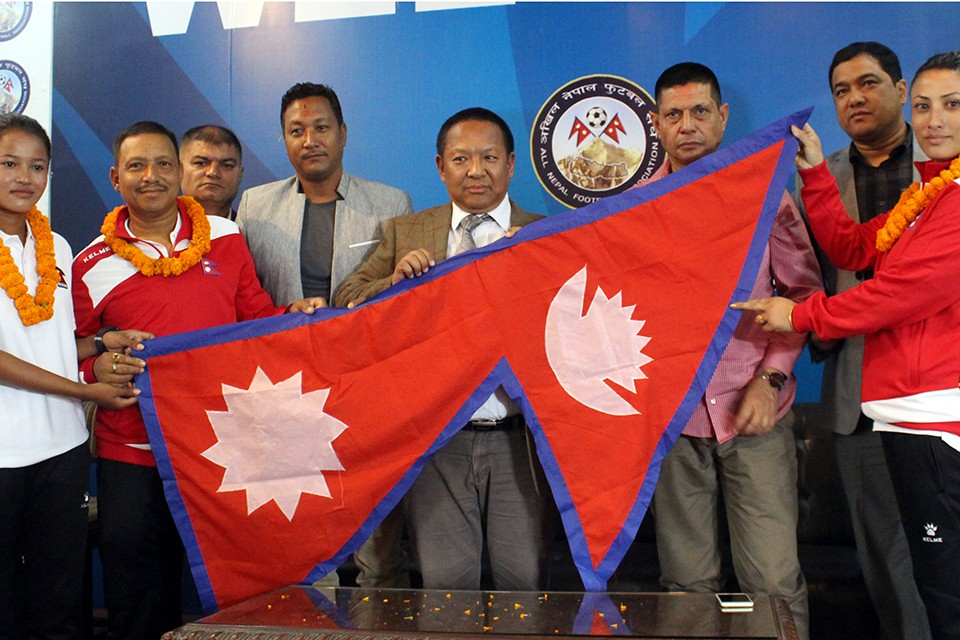 ANFA Bids Nepal U19 Women's Team Farewell To Thailand
