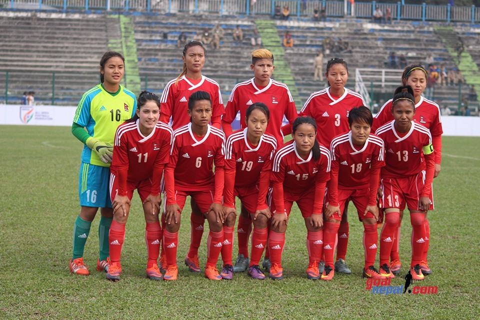 Nepal Women's Team 6 Pos Down To 108 In FIFA World Ranking