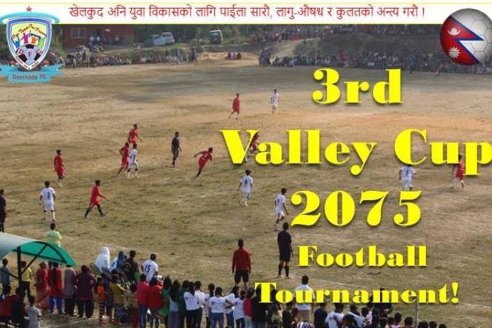 Palpa: Damkada FC Ready For 3rd Valley Cup