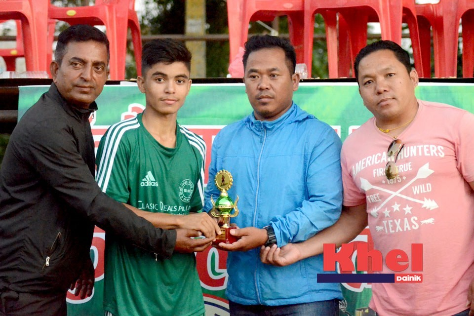 Rupandehi: Gorkha Boys Stuns Nepal APF To Enter SFs Of 5th Mount Star Cup