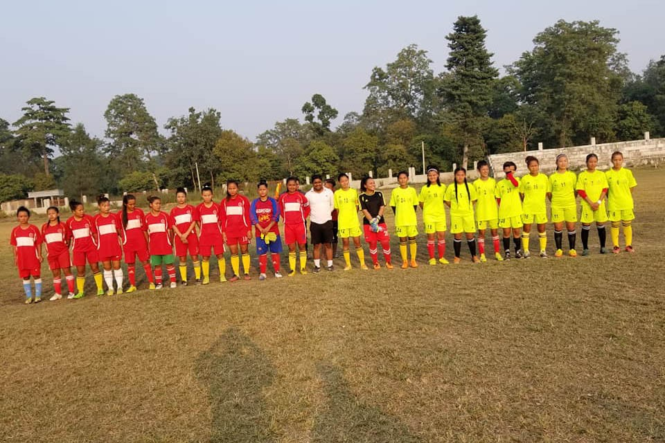Bara: Parsa Women's Team Beats Bara In A Friendly Match