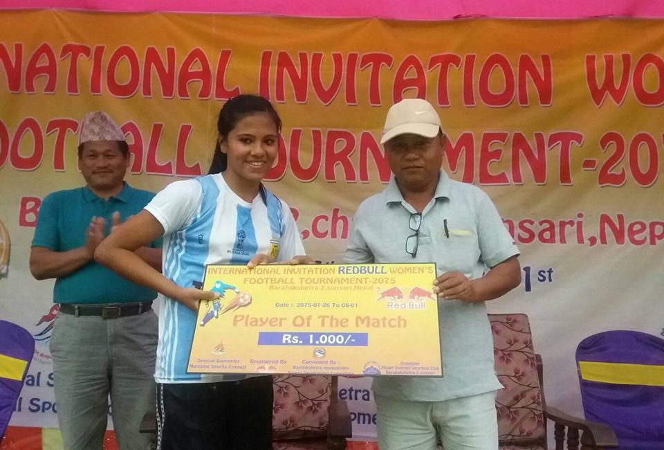 Sunsari: United Girls Darjeeling Enters Final Of Women's Championship