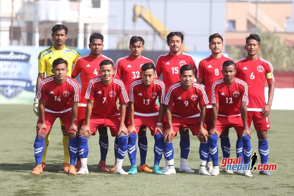 Nepal Police Club Plays Stalemate With Machhindra FC