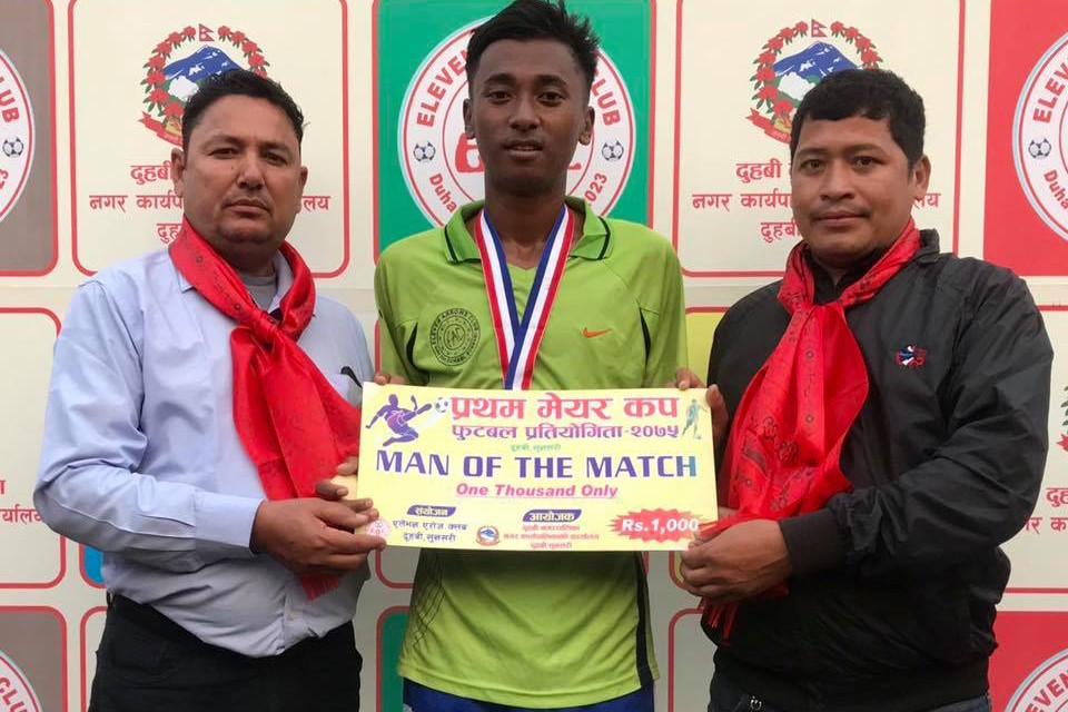 Sunsari: Ward Number Two Enters SFs Of 1st Duhabi Mayor Cup