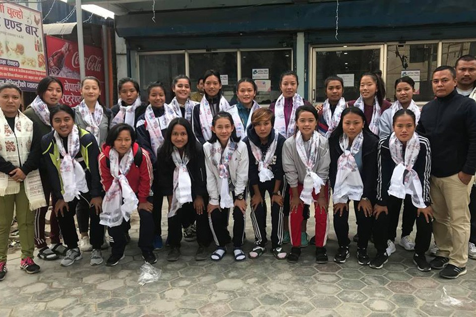 Girls Team From Province 3 Off To Kathmandu