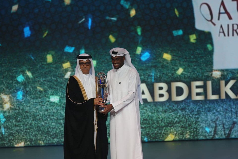 Abdelkarim Hassan Claims AFC Player Of The Year Award