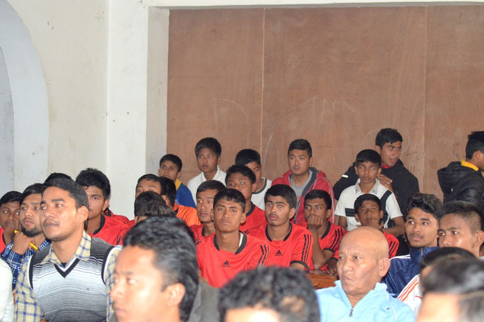 Rupandehi: One Day Grassroots Football Workdshop Held In Butwal