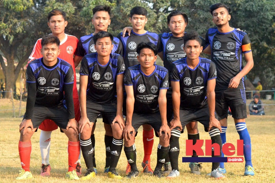 Rupandehi: Nawa Jiwan Club Enters SFs OF 2nd Sanjeewani Cup
