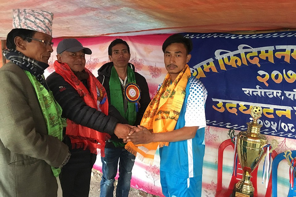 Panchthar: Swotantra Club Enters SFs Of 1st Phidim City Gold Cup